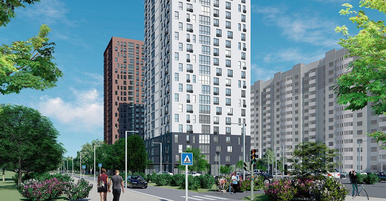 Две последние квартиры 4+ в дизайн-квартале « МОЁ»!