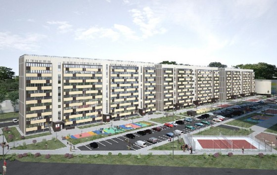 ЖК «Москва»: квартиры в третьей очереди комплекса от 784 тыс. рублей