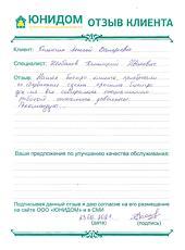 Отзыв Колончина Алексея Валерьевича о работе Шибанова Дмитрия Ивановича