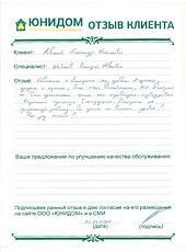 Отзыв Левицкого Александра Михайловича о работе Шибанова Дмитрия Ивановича