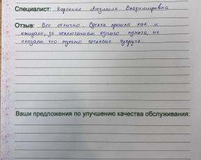 Фомина Наталья Николаевна о работе  Карелиной Людмилы Владимировны