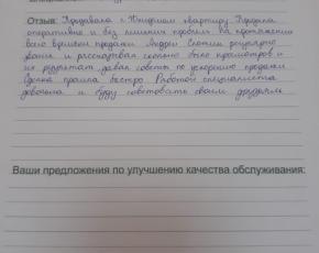 Кирсанова Ирина о работе Слотина Андрея