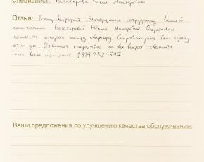 Новоселов Алексей о работе Богатыревой Юлии