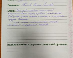 Пушкин Сергей  о работе Фатеевой  Наталии