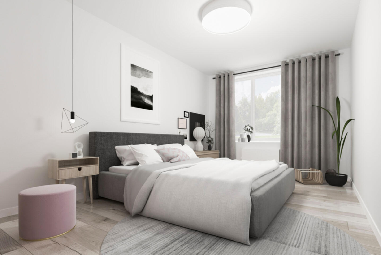 Квартиры с мастер-спальнями для тех, кто ценит комфорт