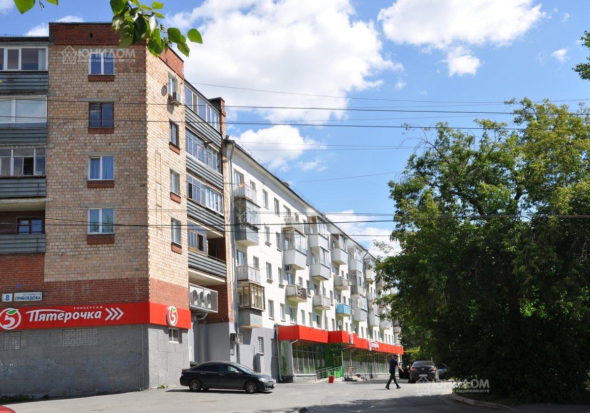 Продам 2-комн. квартиру по адресу Россия, Тюменская область, Тюмень, Грибоедова 8 фото 0 по выгодной цене
