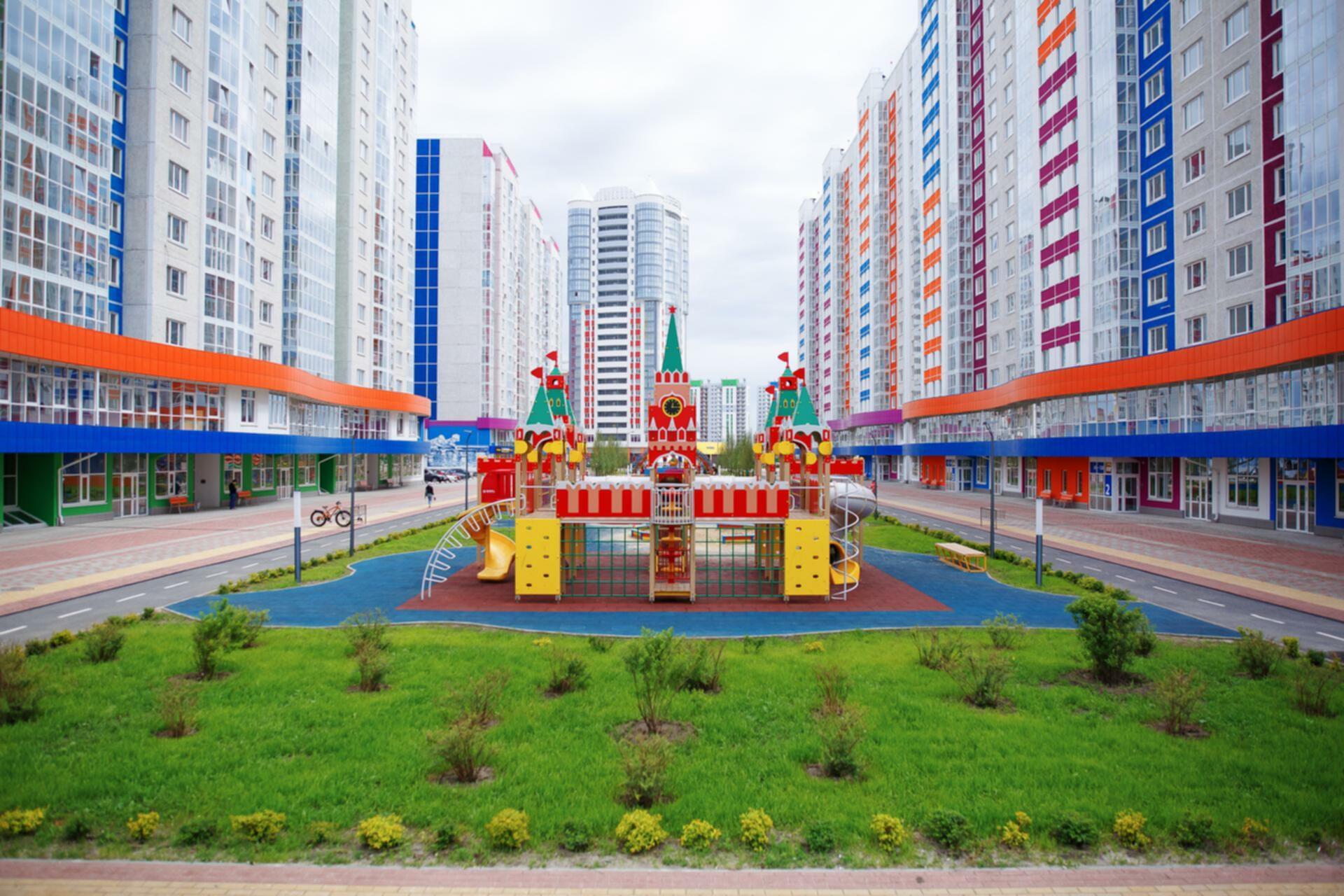 В продаже новые, готовые квартиры возле деревни Патрушева