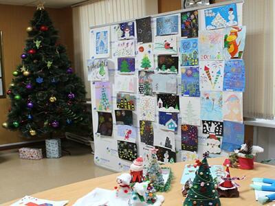 В тюменской Кадастровой палате новогодний фейерверк заиграл яркими красками