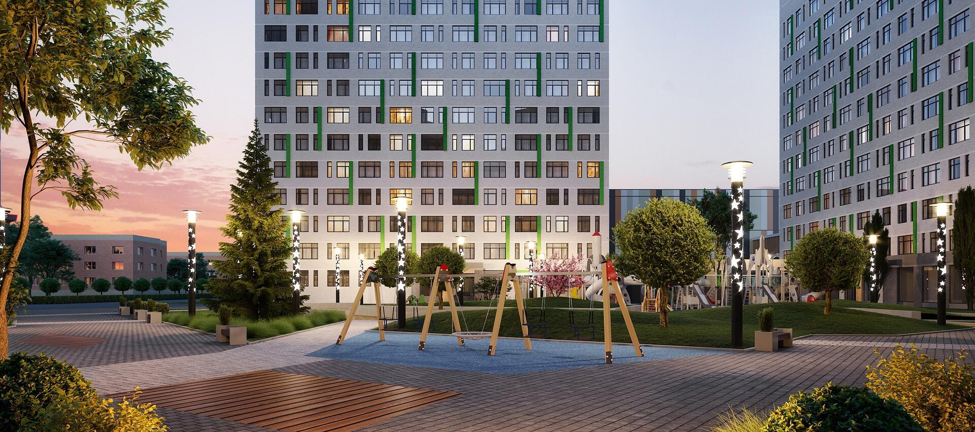 Скидка 300 000 рублей на квартиры в новом доме возле ТРЦ «Сити Молл»