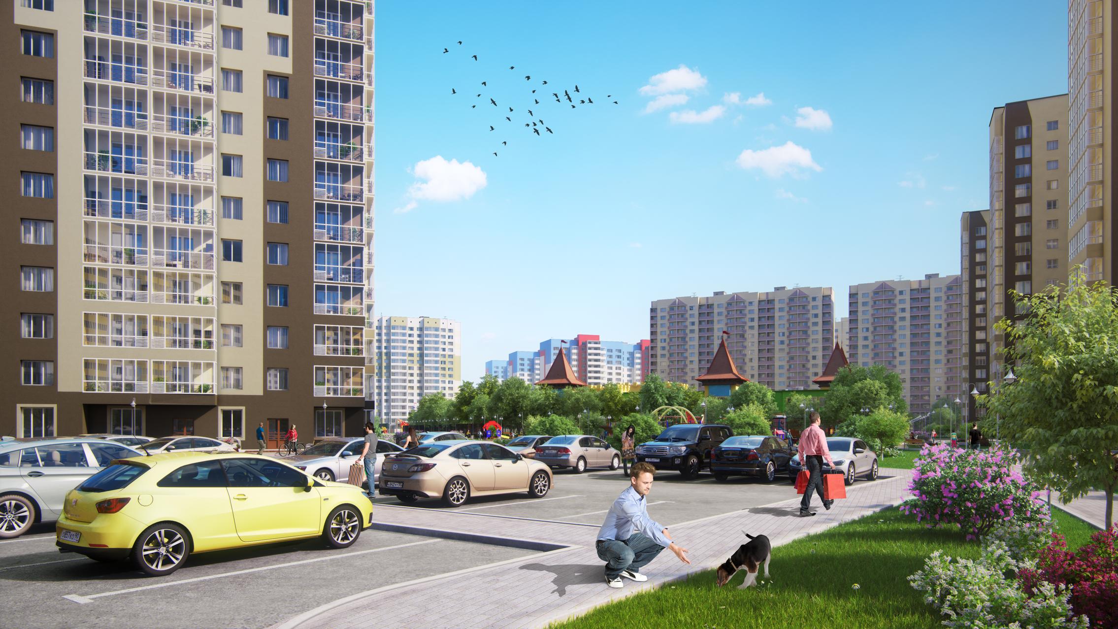 Квартиры от 1280 тыс. рублей в новых домах ЖК «Легенда Парк»