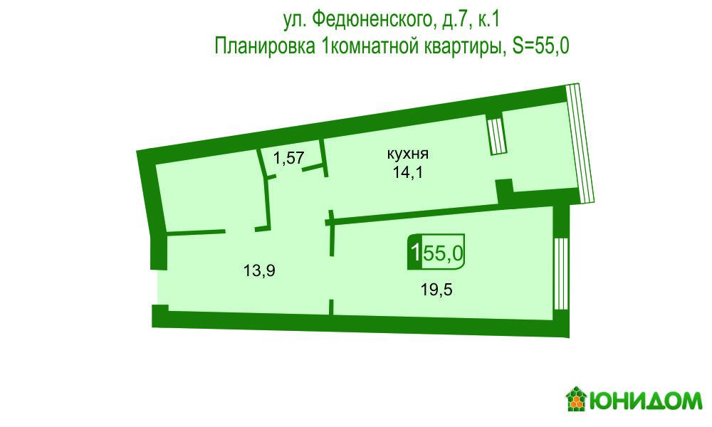 Продам инд по адресу Россия, Тюменская область, Тюмень, Федюнинского, 7 к1 фото 20 по выгодной цене