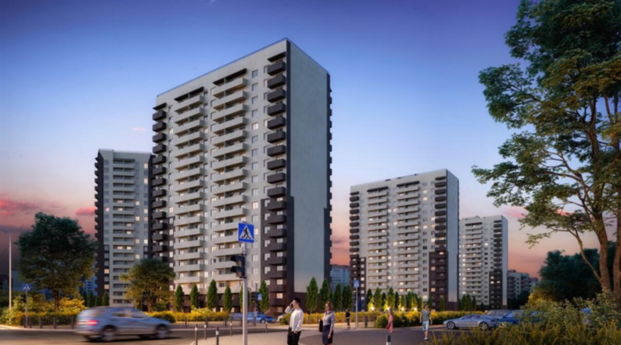 Скидка 150 000 квартиры в новом доме в Тюменской слободе.