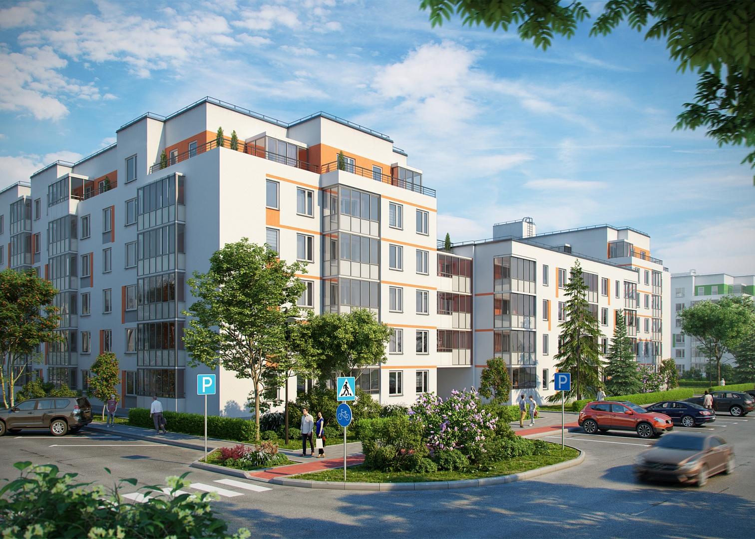 6 квартир со своим палисадником — скидка 50 000 рублей!
