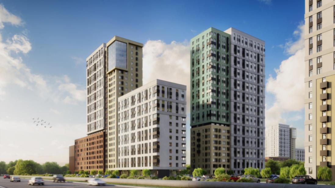Новый жилой комплекс в самом сердце города.
