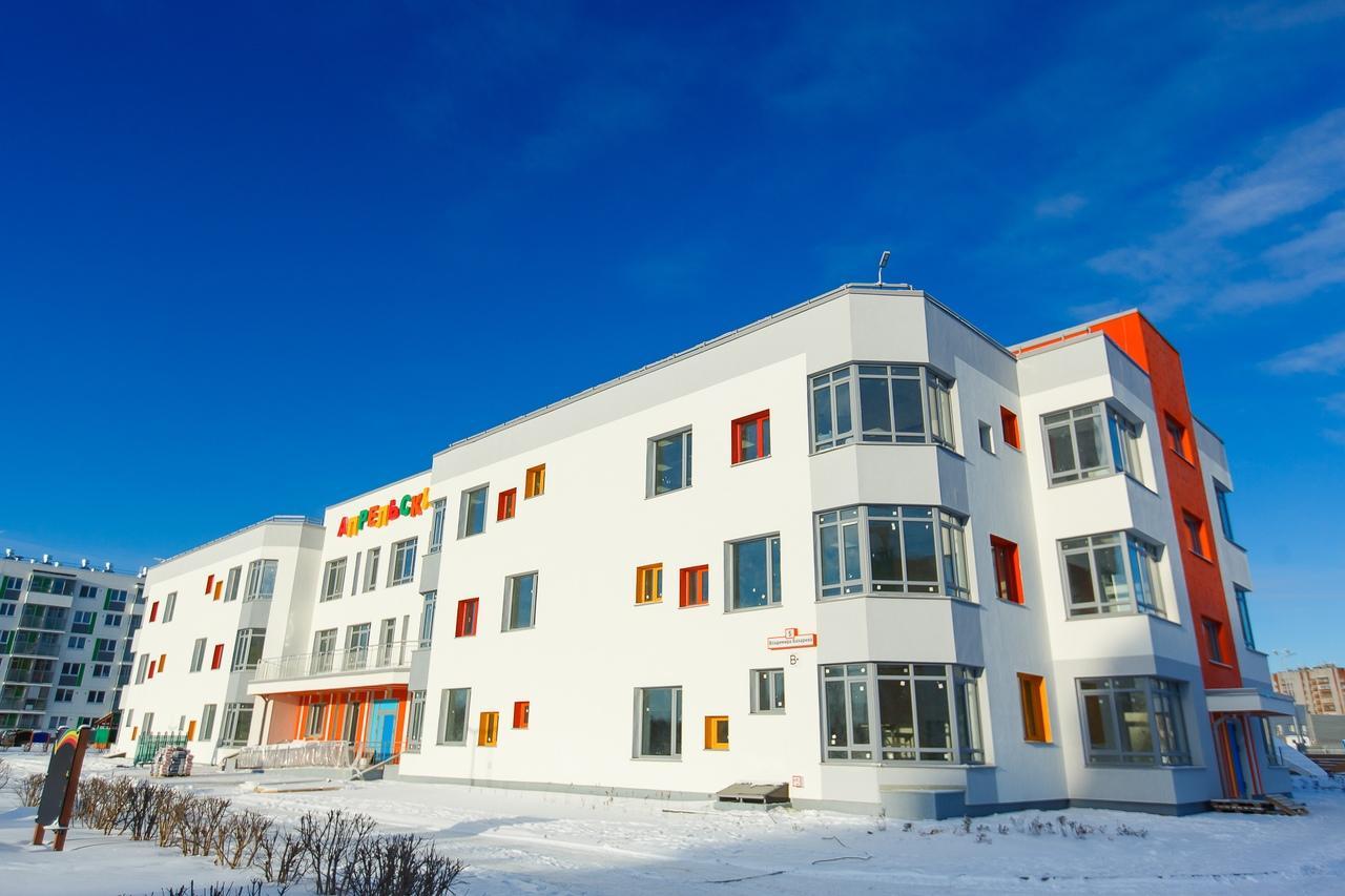 Уже этой весной открывается новый детский сад в ЖК «Апрель»!