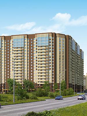 Квартиры в новом доме «Звездного городка» от 1630 тыс. рублей