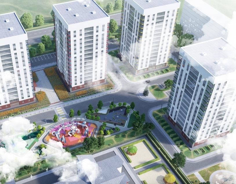 Квартира в новом жилом комплексе — всего от 1400 тыс. рублей