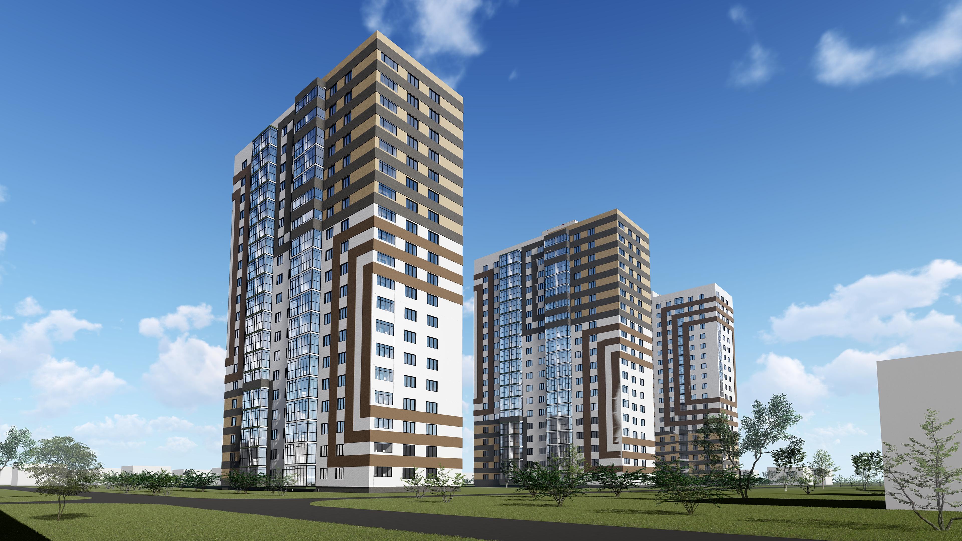 Квартиры в новом жилом комплексе — от 1950 тысяч рублей!