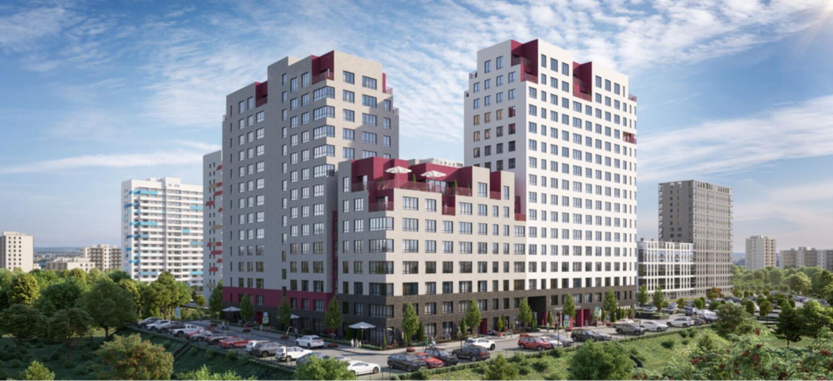 Однокомнатные квартиры с кухней-гостиной от 3 300 000 рублей