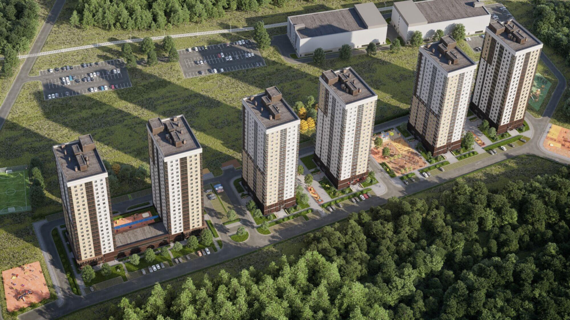 Двухкомнатные и Трехкомнатные квартиры со скидкой 300 000 рублей