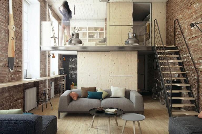 Преимущества двухэтажной квартиры. Как сделать такое помещение комфортным?