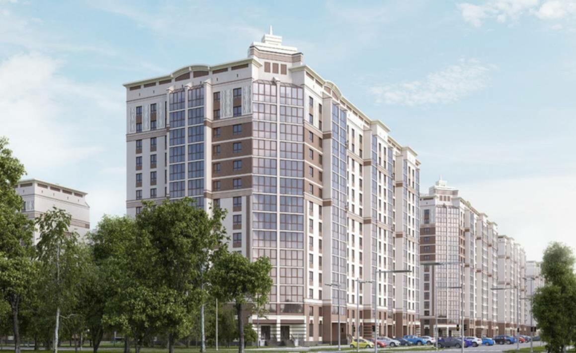 Покупайте квартиру в новом жилом комплексе из кирпича