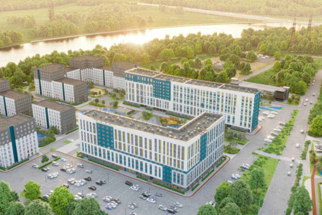 Новые квартиры в новостройки на берегу Туры