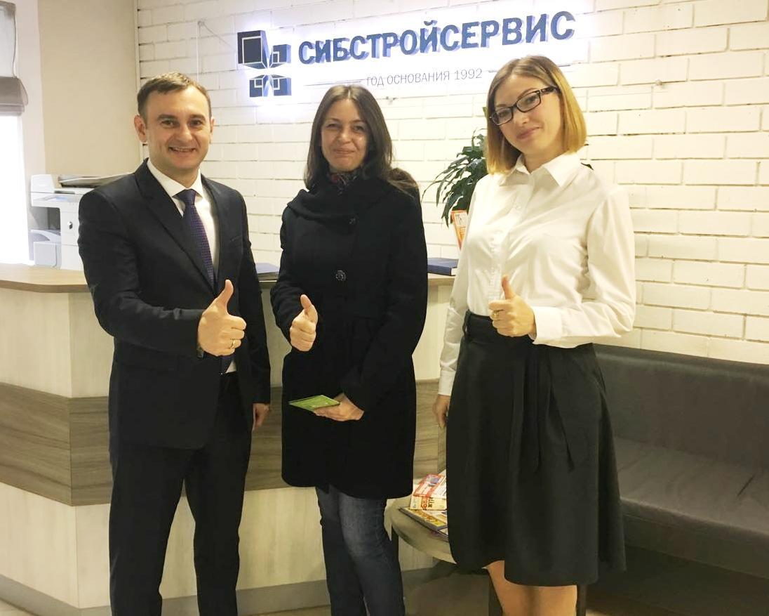 «Сибстройсервис» наградил лучшего работника АН «Юнидом»