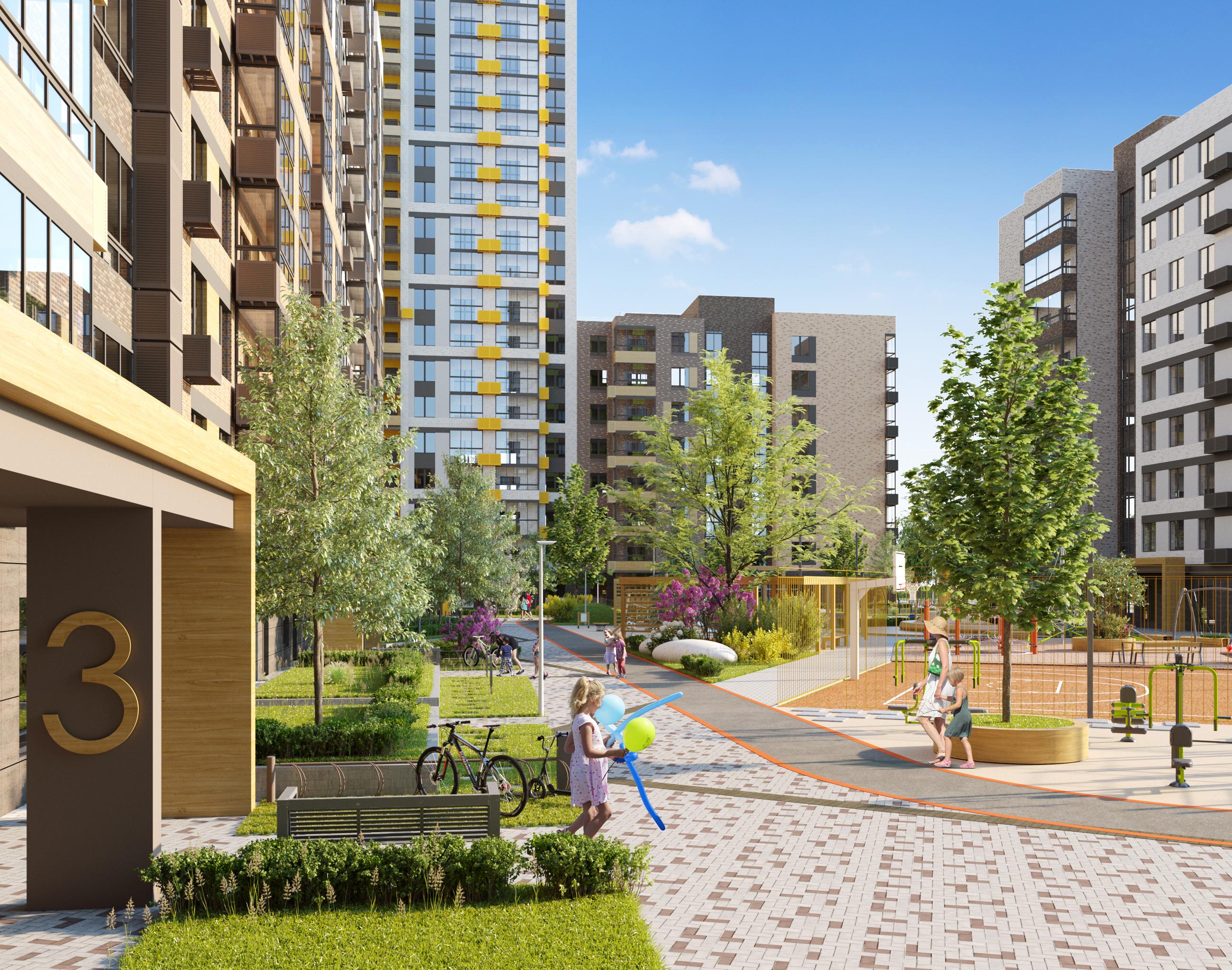 Квартира для семьи: умный дом, уютный район и новая школа