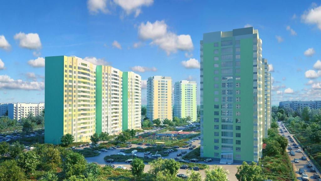Трешки с кухней-гостиной и лаунж-балконами — всего по 54 тысячи за «квадрат»