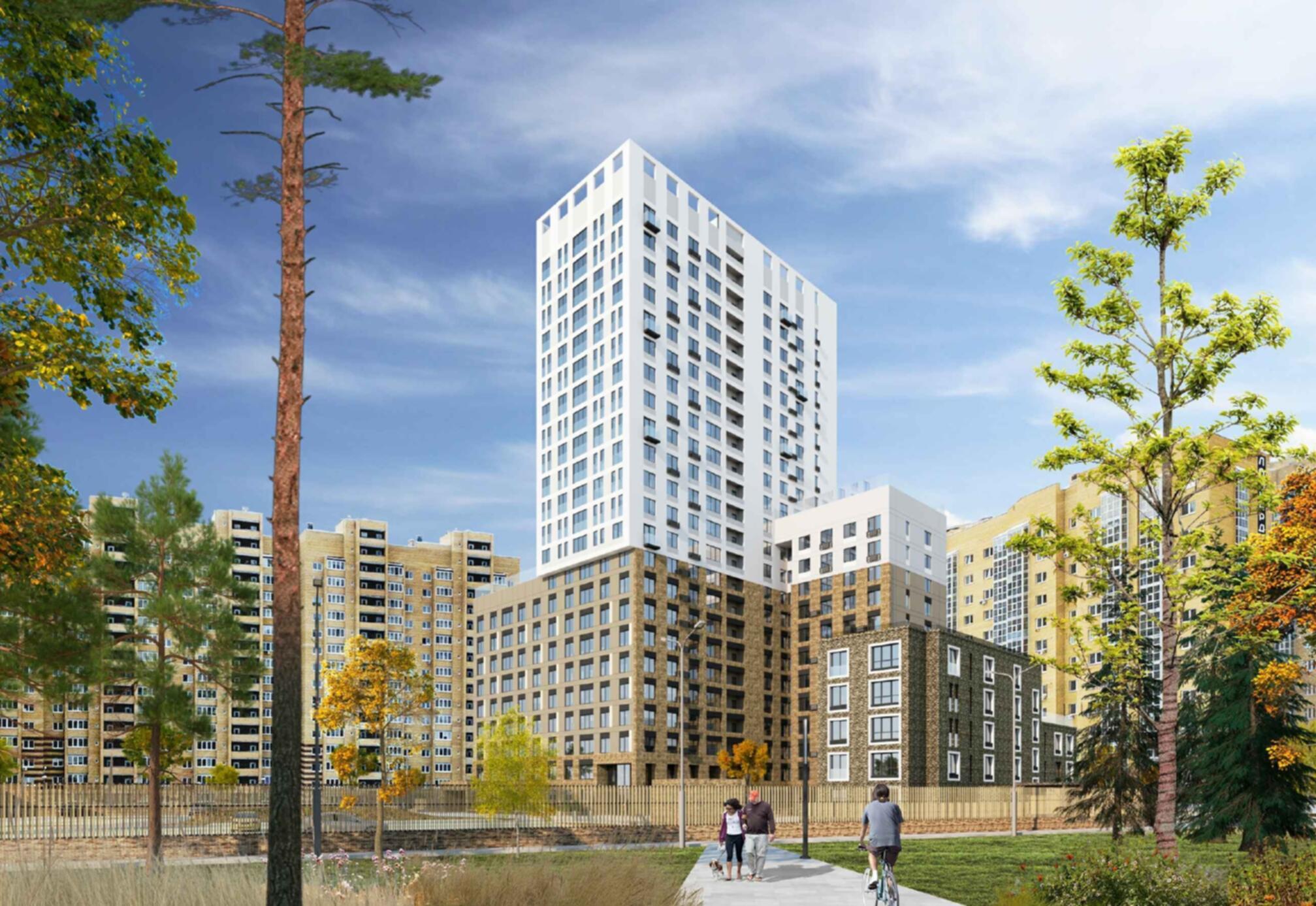 Ремонт в подарок при покупке 1-комнатной квартиры в новом жилом комплексе на Московском тракте